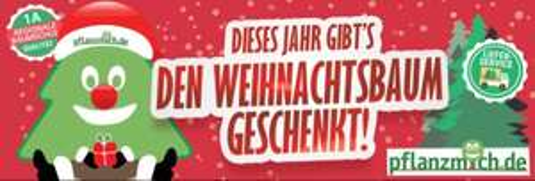 Weihnachtsbaum Rechnerisch Kostenlos 2015 Tree 4 Free, Blaufichte, Nordmantanne etc.