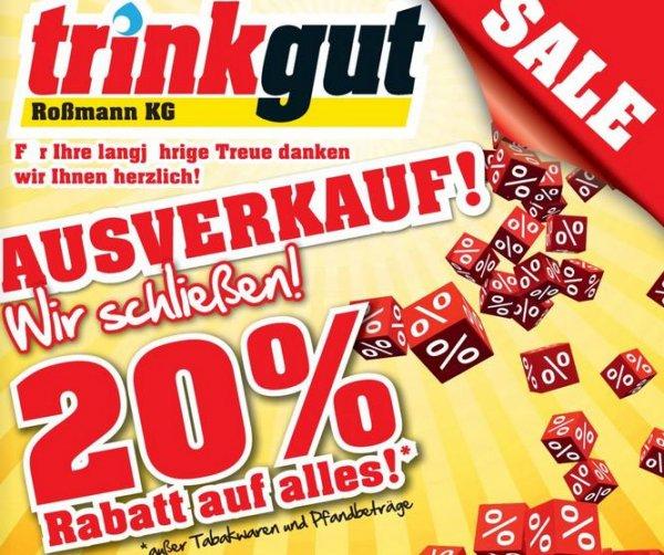 [lokal Koblenz] TrinkGut Koblenz-Lützel 20% Rabatt auf (fast) alles