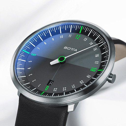 Außergewöhnliche Uhren von Botta Design + kostenloses Lederband