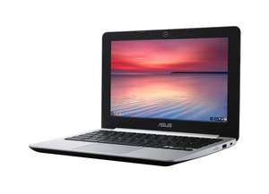 "Asus Chromebook 11,6"" HD Display, Intel® Celeron® N2830 (2x 2,42 GHz), 2GB Ram, 16 GB EMMC, Intel HD Grafik, HDMI, USB 3.0, WLAN-ac, BT, Chrome OS für 155,25€ bei Amazon.fr"