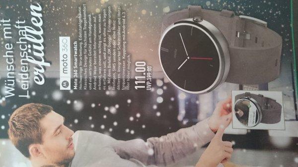 [Lokal Münster?] Moto 360 Smartwatch bei Marktkauf
