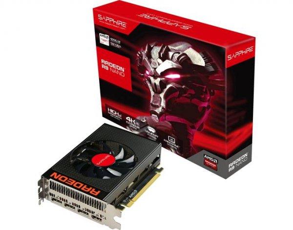Sapphire Radeon R9 Nano 4GB HBM (Neuer Bestpreis)