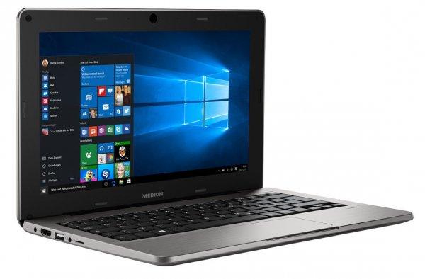 "MEDION AKOYA S2217 Netbook 29,5cm/11,6"" Windows 10 64GB eMMC 2GB Ram FHD IPS matt @ebay medion"