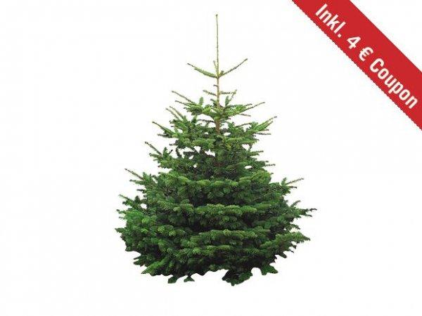 [BAUHAUS] Beim Kauf eines Weihnachstbaums (Nordmanntanne)17,95 € erhählt man einen Gutschein im Wert von 4 €