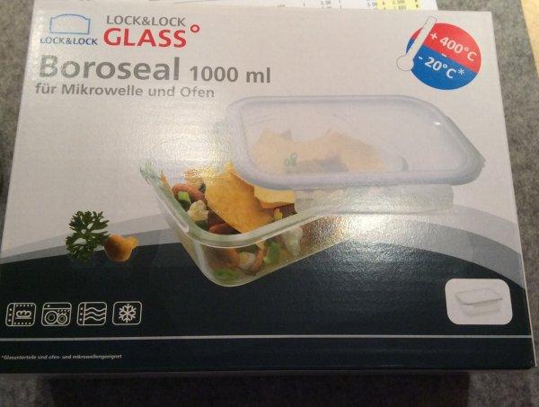 [Metro] Lock & Lock Glass Boroseal Boxen verschiedene Größen, Vorratsboxen