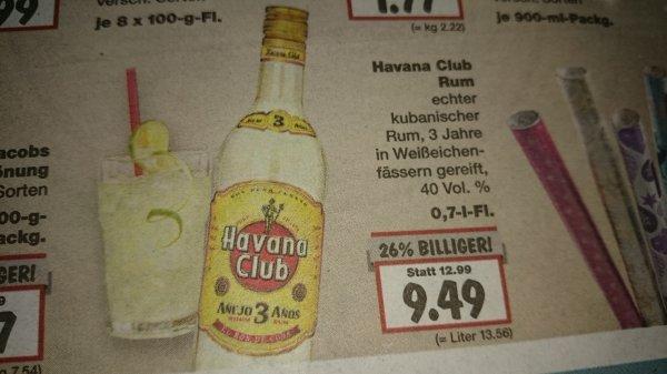 [KAUFLAND] Havana Club Rum - 3 Jahre