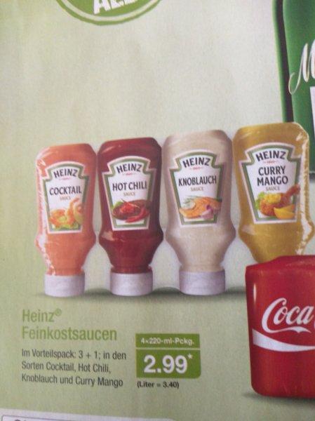 (Aldi Nord ) Heinz Feinkostsaucen 4erPack