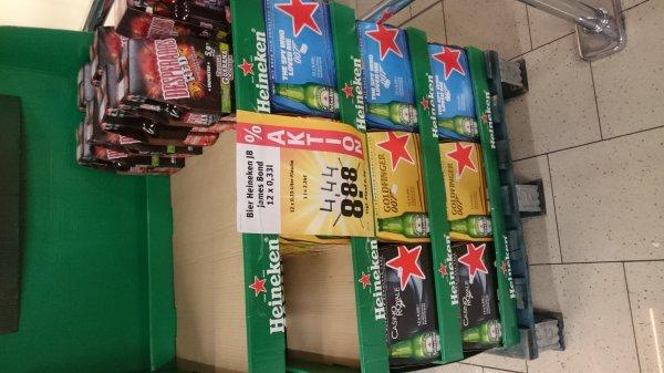 [Lokal REWE] Heineken 12 x 0,33l für 4,44€ -> 1,12€/l