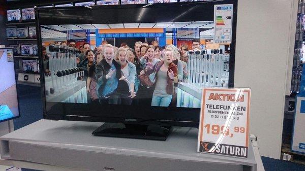 Telefunken D 32 H 279 Triple Tuner Full HD Ready USB 199,-€ SATURN MYZEIL Frankfurt