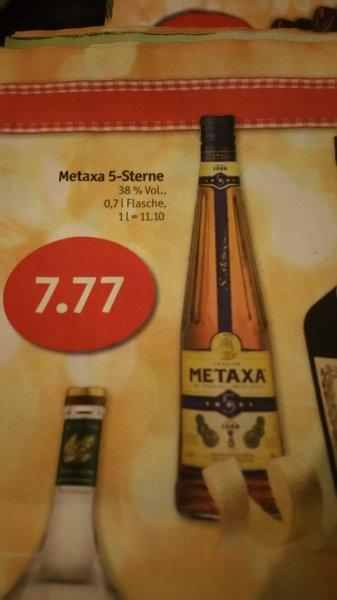 SKY / COOP: Metaxa 5-Sterne für 7,77 €