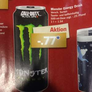 Monster Energy 0,77 ct- LidL - ab Montag 14.12