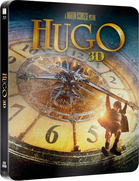 Hugo Cabret 3D Steelbook [Achtung nur Englisch]
