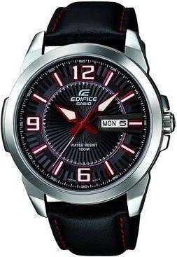 Casio Herren-Armbanduhr XL Edifice Analog Quarz Leder EFR-103L-1A4VUEF inkl.Vsk für ca. 58 € > [amazon.uk]