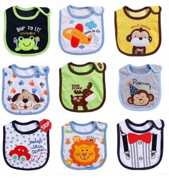[Amazon.de] 9 Babylätzchen statt 17,99€ nur 1,99€ mit Gutschein