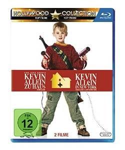 [Amazon Prime] Kevin - Allein zu Haus Box 1 & 2 Blu-ray für 7,97€