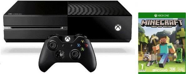 [Digitec.ch] Microsoft Xbox One 500 GB, inkl. Minecraft