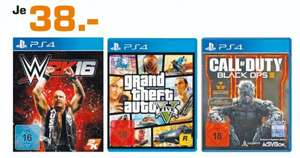 (Lokal) Call of Duty: Black Ops 3 (PS4) für 38€ @ Saturn Aachen