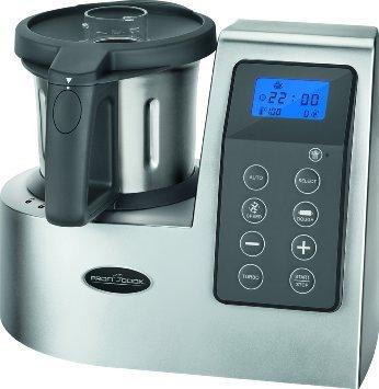 PROFI COOK PC-MKM 1074, Küchenmaschine mit Kochfunktion, 600 Watt, Silber, SATURN