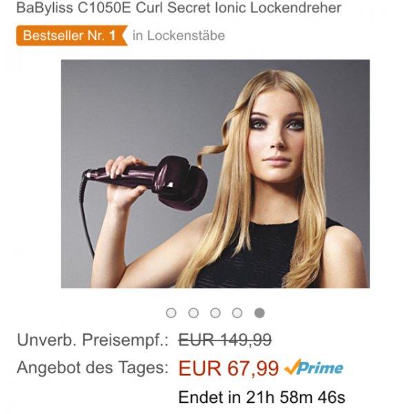 Amazon (Prime) Babyliss C1050E Curl Lockendreher für 67,99€