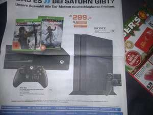 XBox One 1TB mit Tomb Raider und Rise of the Tomb Raider (Lokal)