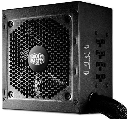 Cooler Master G550M - 550W, teilmodular, 2x 6/8-Pin PCIe, 5 Jahre Garantie - 49,99€ @ ZackZack.de