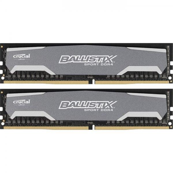 [NBB] Crucial Ballistix Sport 16GB Kit (2x8GB) DDR4-2400 CL16 - 82,90 - (Amazon für 88,66)
