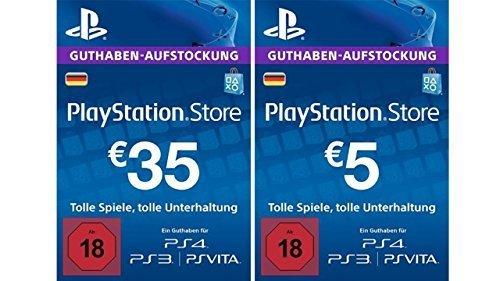 PlayStation 4 - 3 Monate Mitgliedschaft + 40 Euro Network Guthaben