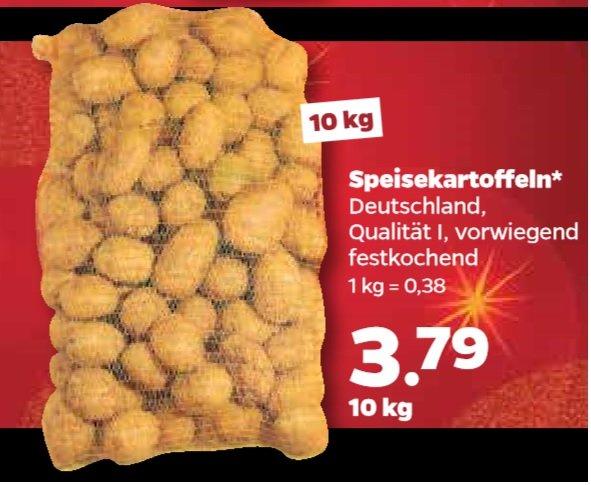 Netto (mit Hund) 10Kg Speisekartoffel klasse I für 3,79€ am 16.12