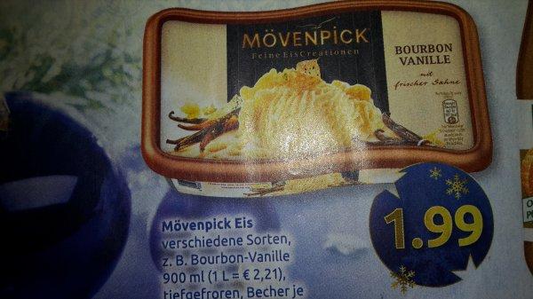 Edeka Süd: Mövenpick Eis für 1,99 Euro (Angebot + Scondoo für 0,99 Euro)