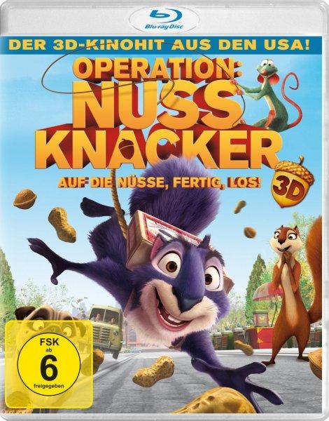 [Amazon Prime] Operation Nussknacker (inkl. 2D-Version) [3D Blu-ray]