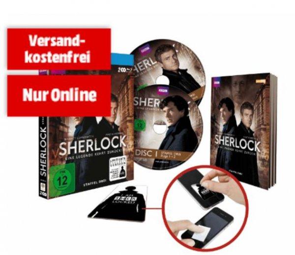 [Mediamarkt.de] Sherlock Staffel 3 auf Blu-Ray und DVD für 8,90 € / Blu-Ray wieder verfügbar?