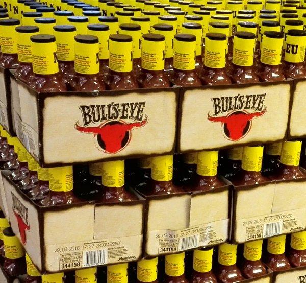 [lokal Hannover] BULL'S EYE BBQ SAUCE HOT CHILI kostenlos