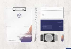 Envato Gift of Giving #1 Airlines Company Identity Mock-up