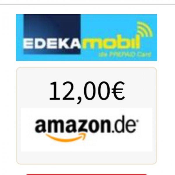 10 € SGH Edeka Mobil + 12Euro Amazon Gutschein Für Effektive 9,95Euro