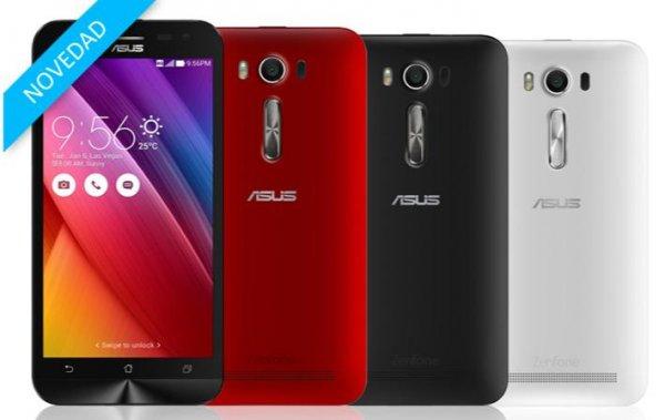 """Asus ZenFone 2 Laser  (ZE550KL) LTE-Dual SIM (5,5"""" HD IPS Gorilla Glas4, Snapdragon 410, 2GB RAM, 16GB intern, erweiterbar, 13+5Megapixel Cam, 3000mAh wechselbar, Android 5.0  > Marshmallow  für 195,50 €  [amazon.es]"""