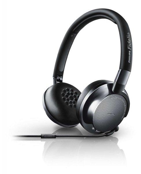 Philips Fidelio NC1 - Noise Cancelling On-Ear-Kopfhörer für 133,75€ bei Amazon.fr