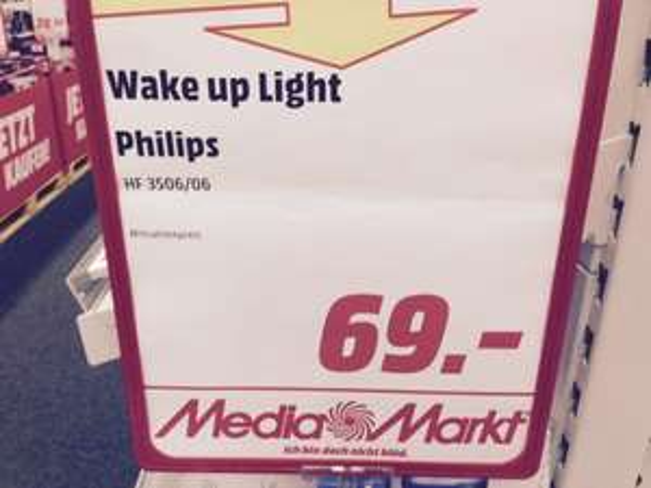 Phillips Wake Up Light HF 3506