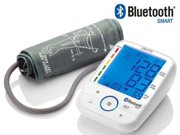 [Lidl] SANITAS Bluetooth Oberarm-Blutdruckmessgerät SBM 67