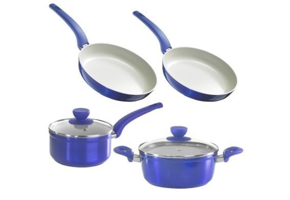 [3% Qipu] Style'n Cook 6er Pfannen-Topfset in 2 Farben (alle Herde) für 49,99€ frei Haus @Dealclub
