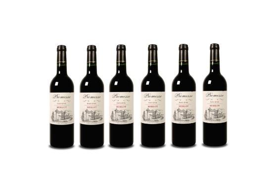 [3% Qipu] 6 Fl. Promesse - Merlot - Pays d'Oc Rotwein aus Südfrankreich für 21,95€ frei Haus von Weinvorteil @Dealclub