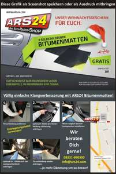 Lokal Memmingen: Zwei selbstklebende Bitumenmatten gratis