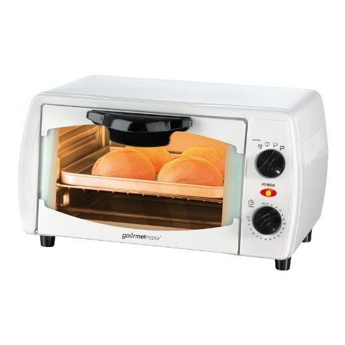 Infrarot Ofen 9l Mini Backofen Grillen Backen 1000 Watt mit Uhr (B-Ware) für 18,95€ @ Allyouneed