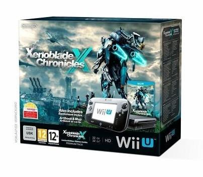 Wii U Konsole+ Xenoblade Chronicals X nur 247,99€