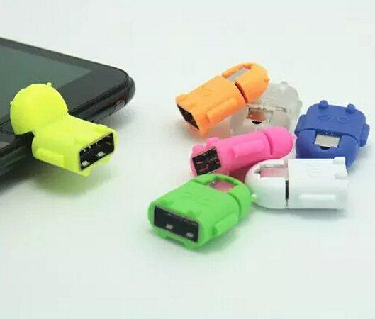 (CN) Micro USB zu USB OTG Adapter  für 12 Cent @ Aliexpress