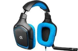 Amazon-Warehouse Logitech G430 Gaming Headset für PC und PS4 blau für 43,53€
