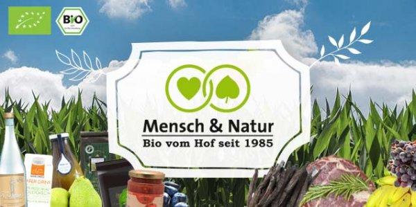 [Wieder da @Dailydeal] 13,90€ für 30€ (bzw. 20€ für 9,90€) für Bio-Lebensmittel im Mensch & Natur Onlineshop