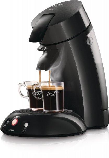 Philips Senseo HD7810/60 Original Kaffeepadmaschine, 1-2 Tassen, schwarz