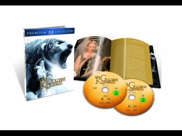 [Saturn Online] Der Goldene Kompass (Premium Collection, 2 Blu-ray) für 3,99€