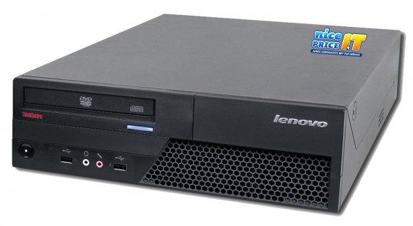 Bürotier: Lenovo ThinkCenter M58p Desktop für 79,57€ @nicepriceit.de