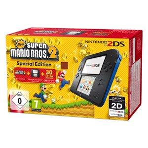 Nintendo 2DS New Super Mario Bros. 2 Special Edition für 74€ bei Real.de